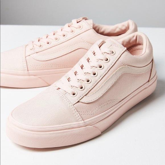 Vans Shoes | Mono Color Pink Old Skools